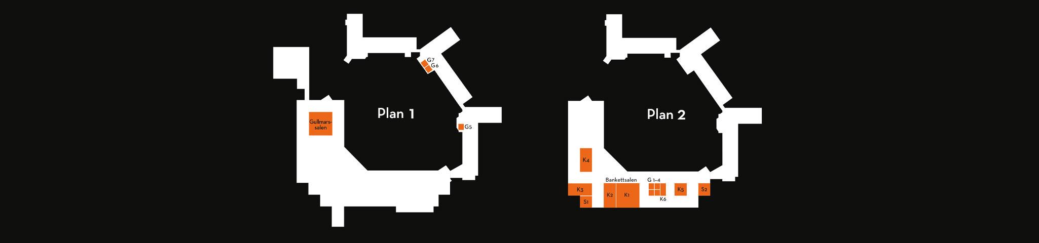 Konferenslokaler, skissar och planritning pa konferenslokaler pa vann spa hotell och konferens